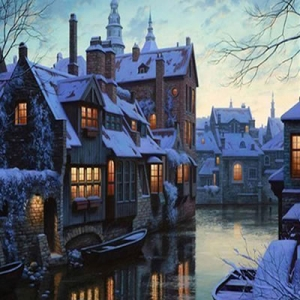 Зима в Брюгге (Winter in Bruges)
